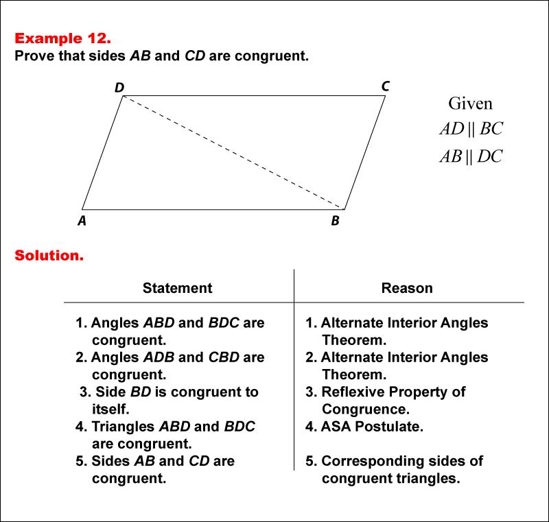 math example geometric proofsexample 12  media4math