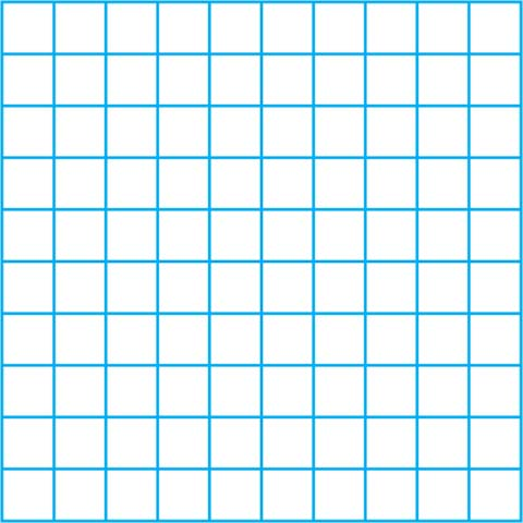 Grid math. Clip art square media