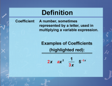 Defintion--VariablesUnknownsConstants--Coefficient.png