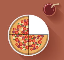 MathClipArt--Fractions--PizzaSlices--ThreeFourths.png