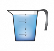 MathClipArt--MeasuringCup--Water--FullFourths.png