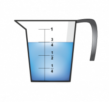 MathClipArt--MeasuringCup--Water--ThreeQuarters.png