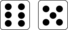 MathClipArt--Two-Dice-with-11-Showing.png