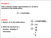 RationalApproximationsOfIrrationalNumbers--Example5.png