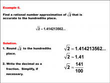 RationalApproximationsOfIrrationalNumbers--Example6.png